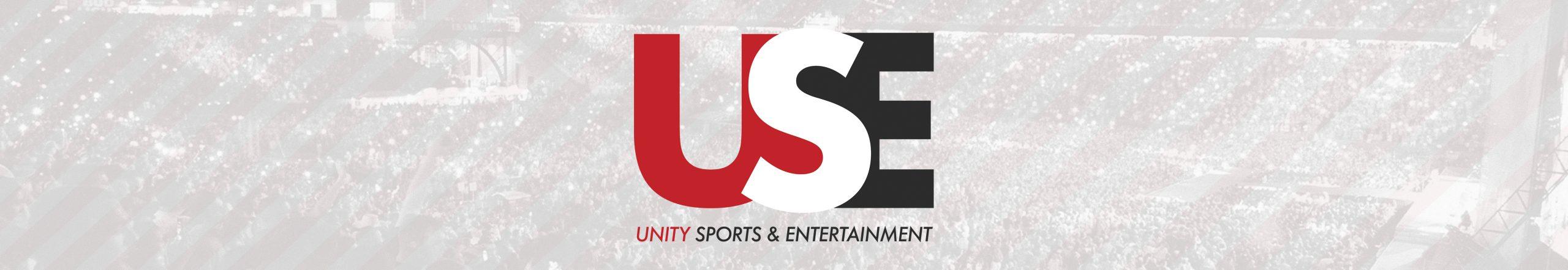 Unity Sports & Entertainment Logo Banner